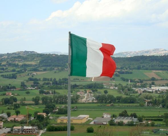 Italiaanse vlag - Italiaanse cultuur