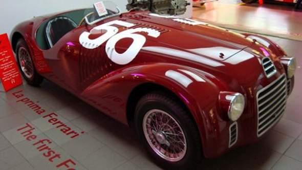 De eerste Ferrari in Maranello: de 125 S (photo credit: Edward Hendriks)