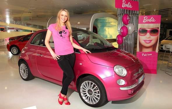 Fiat 500 Barbie - Italiaanse automerken
