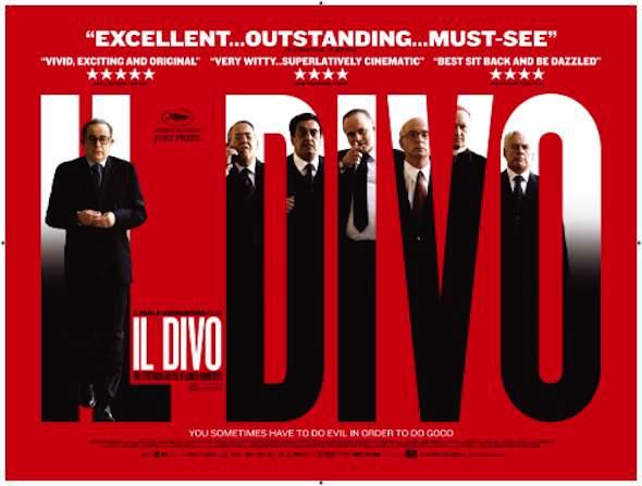 Italiaanse politiek op het witte doek: filmposter van Il Divo