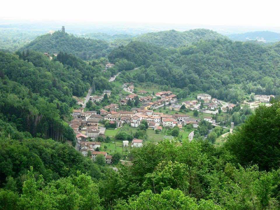 Paludea vanaf col Monaco - Friuli-Venezia Giulia
