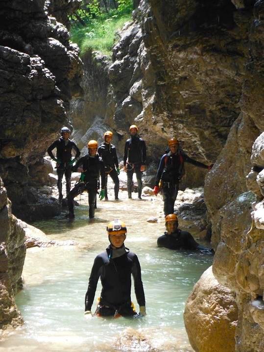 canyoning in Friuli-Venezia Giulia