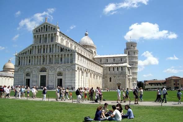 Pisa, Toscane, Italië