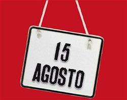 Ferragosto 15 augustus Italië