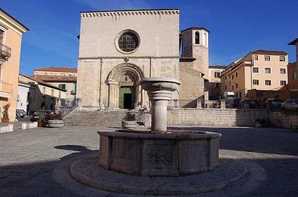 L'Aquila in Italië
