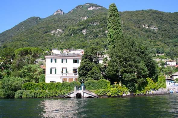 Villa George Clooney aan het Comomeer