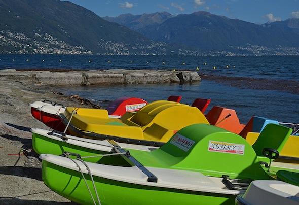 Italiaanse stranden - Cannobio Lido
