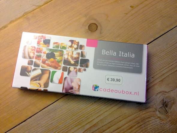 Cadeaubox Bella Italia