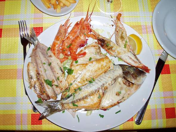 Pranzo in Italië