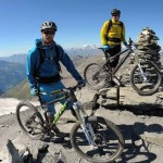 mountainbiken in Zuid-Tirol