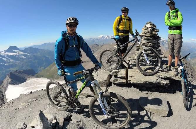mountainbiken in Zuid-Tirol