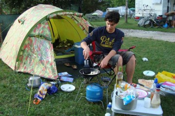 camping in Italië