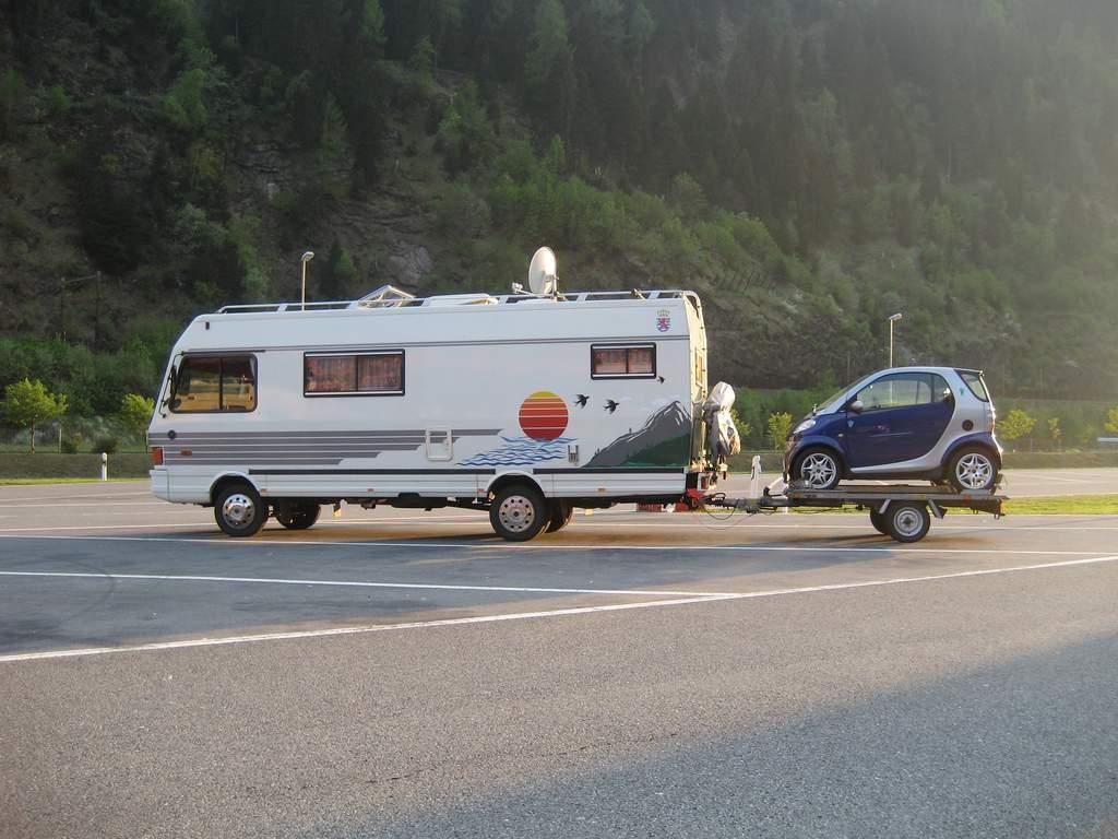 Camper naar Italië