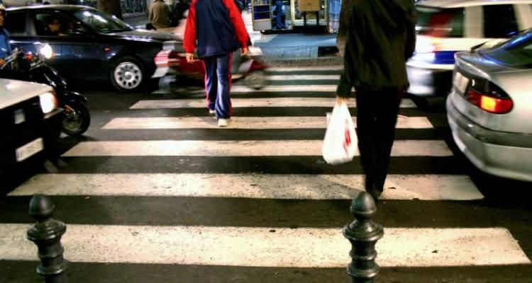 Zebrapad in Italië