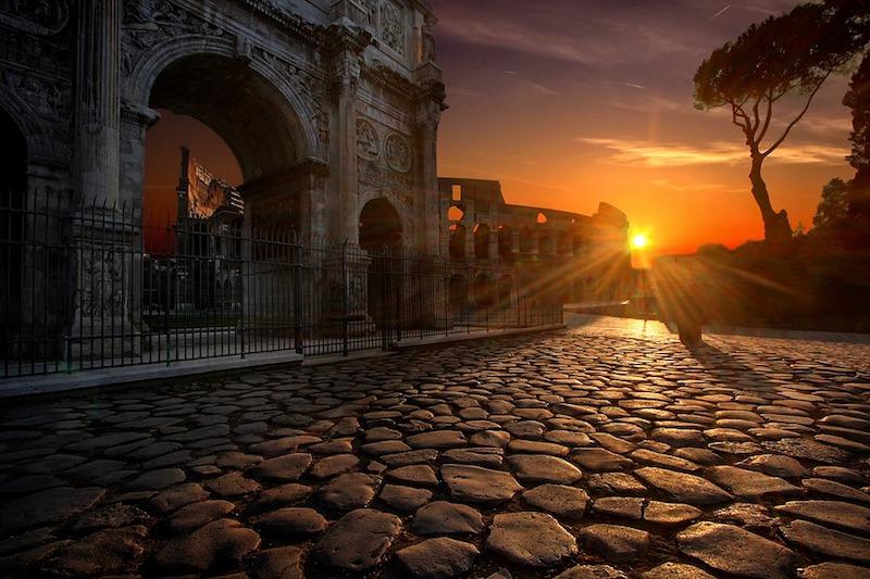 Rome is geweldig om te bezoeken, maar jaarrond druk