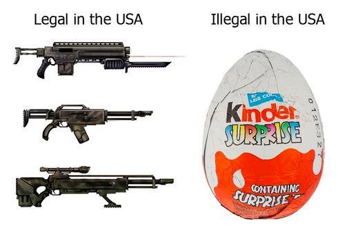 Kinder Surprise: verboden in Amerika