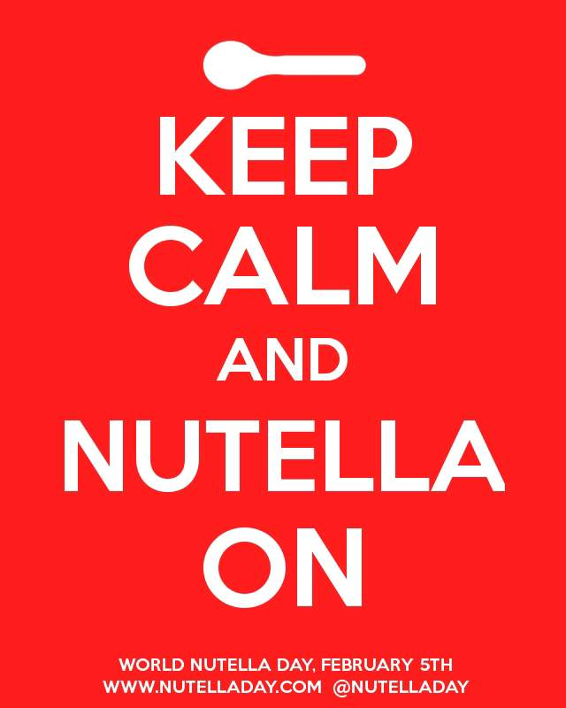 Keep calm and Nutella