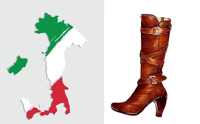 Waarom is Italië een laars