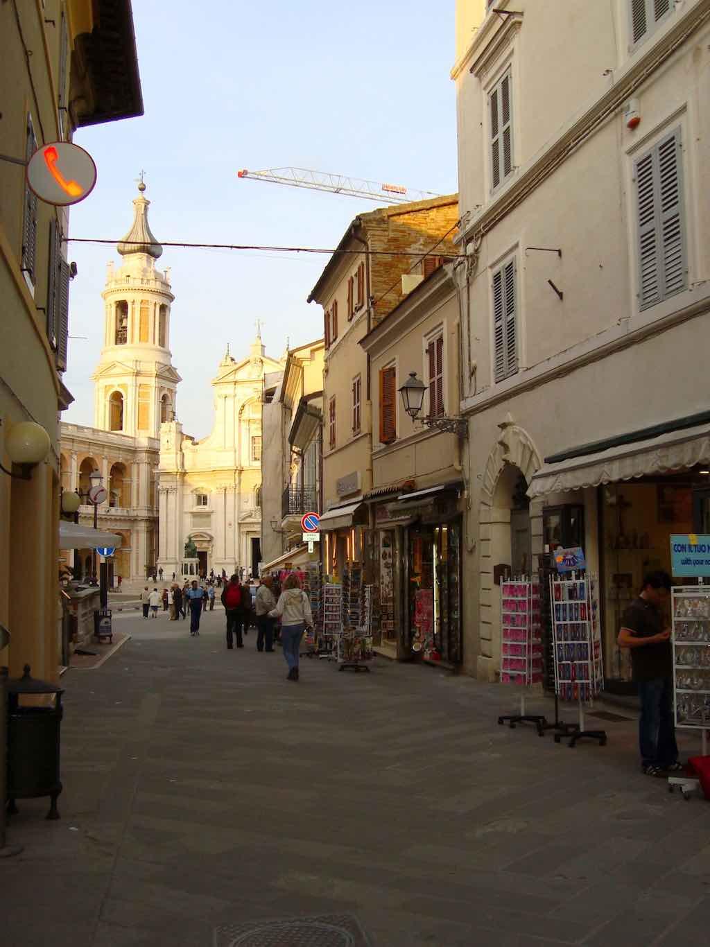 Het oude centrum van Loreto