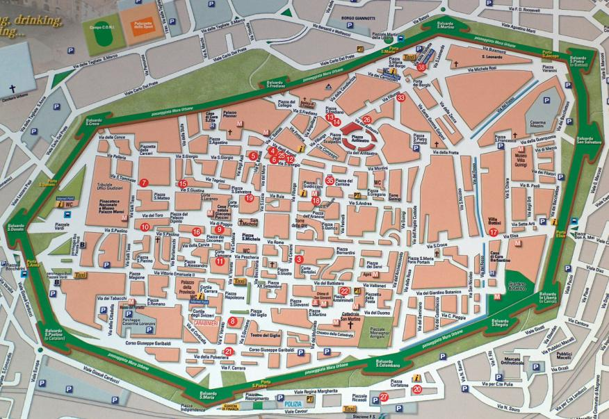 Lucca-map