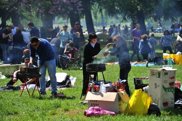 Picknick op Tweede Paasdag