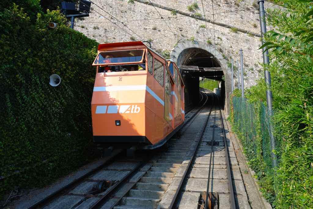 Funicolare di Bergamo Alta (foto: Wikimedia)