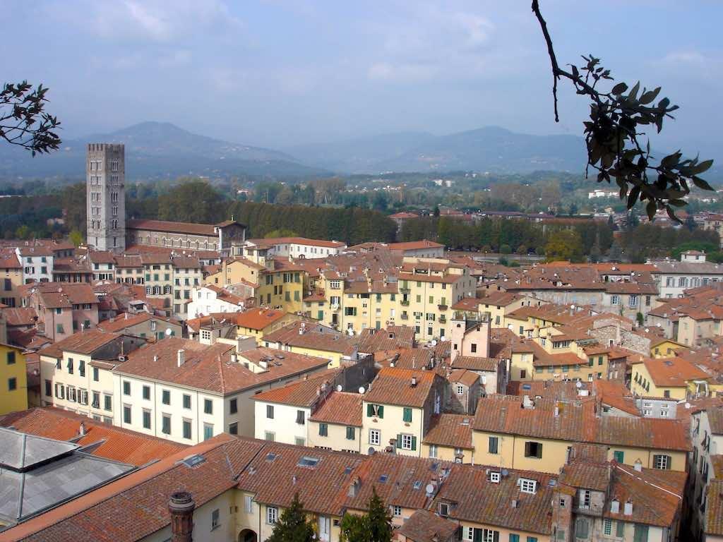 fietsen in Lucca