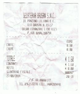 koffie espresso italie