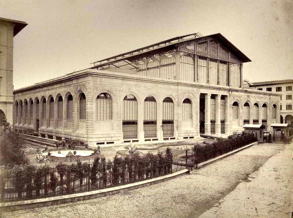 Een foto uit de oude doos van de Mercato Centrale in Florence (foto: Wikimedia)