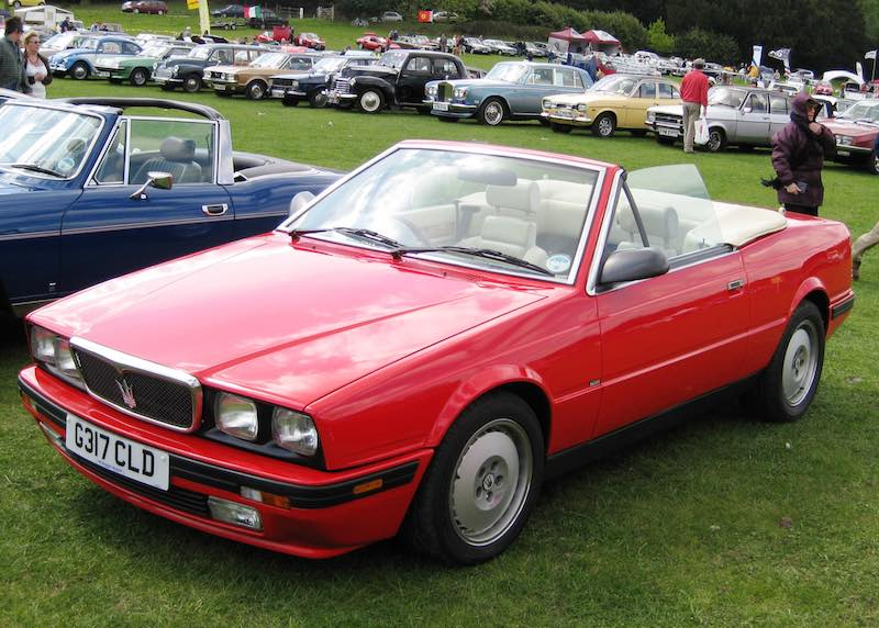 Maserati Biturbo (foto: Wikimedia)