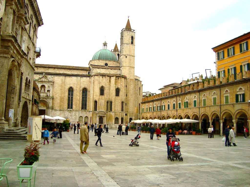 Ascoli Piceno, een van de mooiste plekken in De Marken