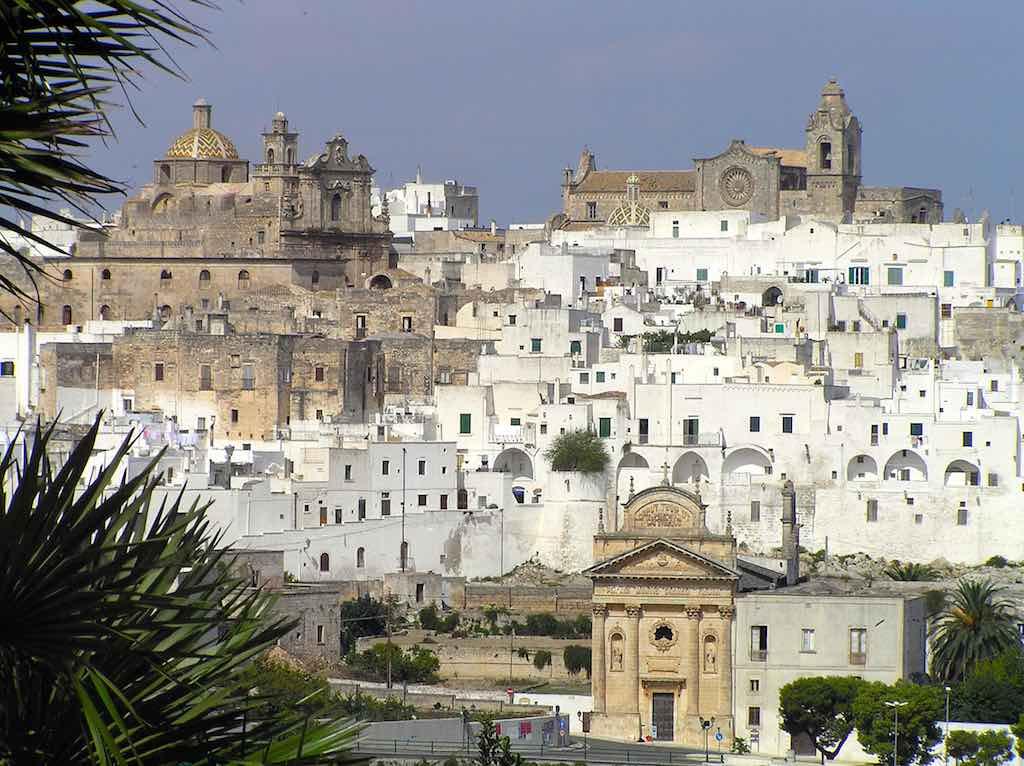 'Het witte stadje' Ostuni in Apulië