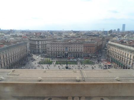 Uitzicht vanaf de Duomo