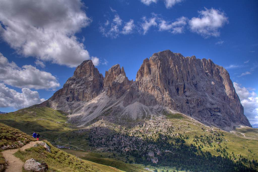 De Sellapas in de Dolomieten, zeker een van de mooiste plekken in Italië