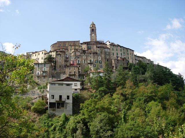 Castelvittorio in Ligurië