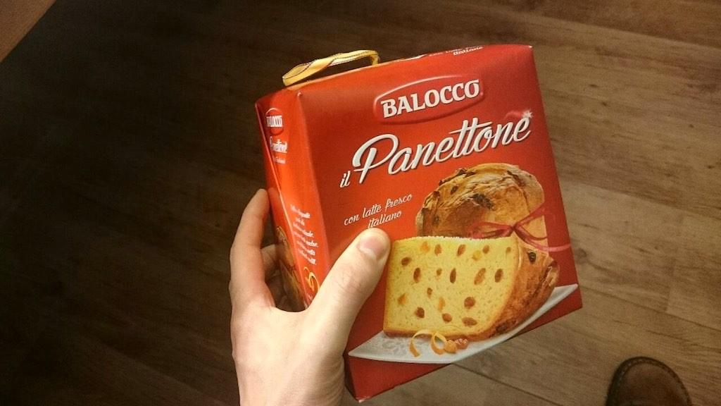 Met panettone kun je altijd aankomen bij een Italiaans kerstfeest