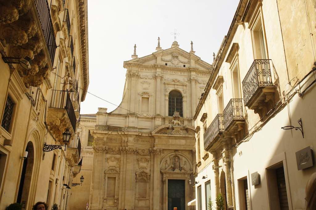 Het barokke Lecce in de streek Salento