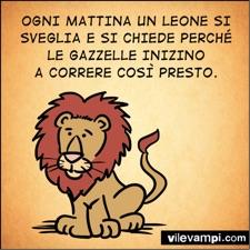 de leeuw - italiaanse spreekwoorden