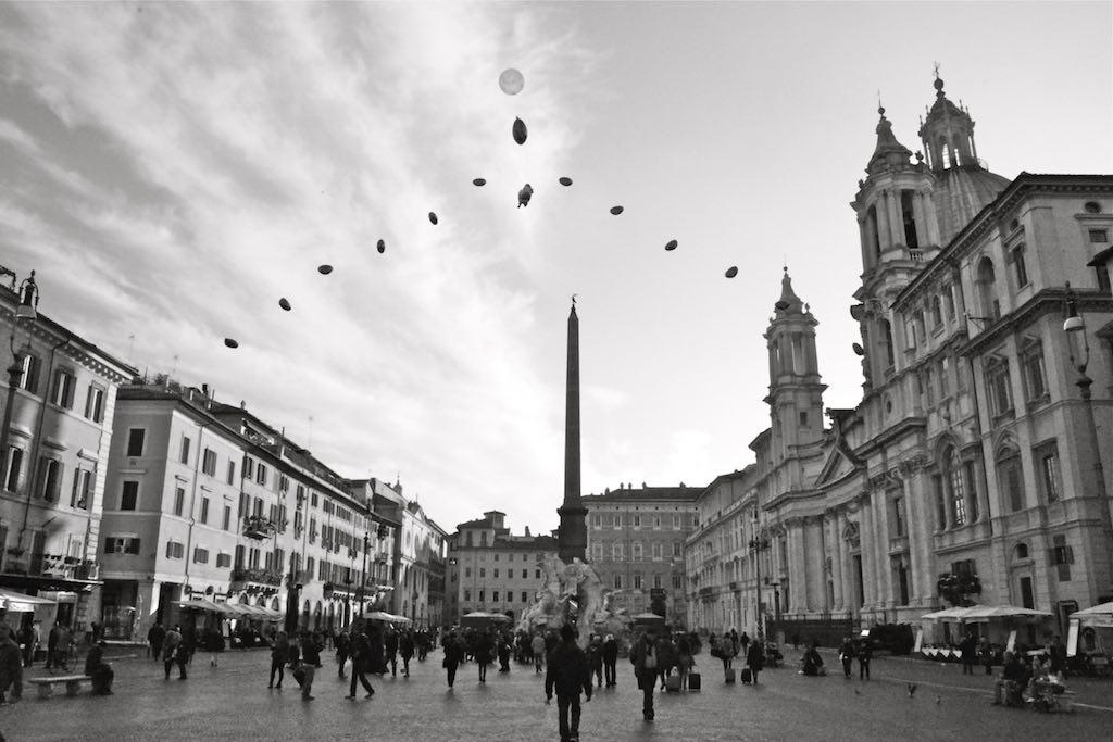 mooiste pleinen van italie - piazza navona rome