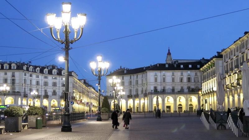 Piazza Vittorio Veneto in Turijn