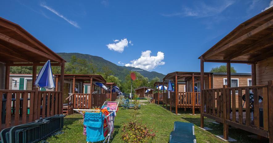 meivakantie in Trentino op Camping Lago di Levico