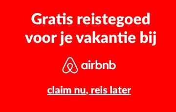 Korting op huren via Airbnb