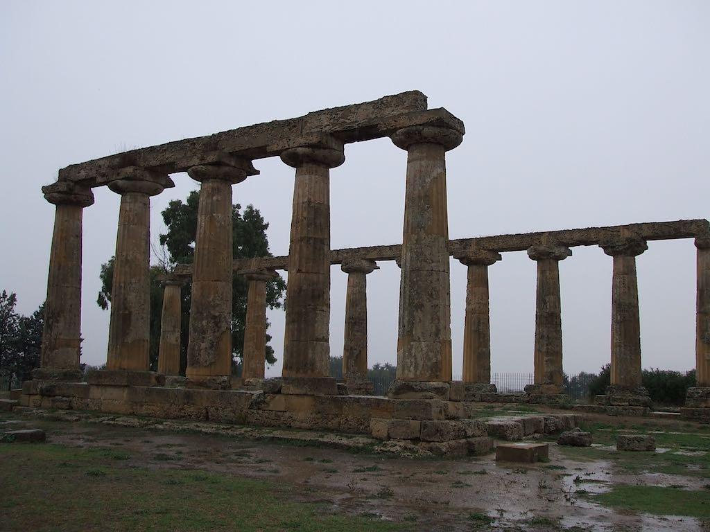 Griekse tempel - Basilicata