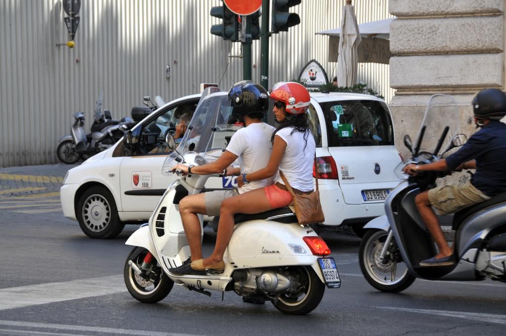 Vespa-vakantie in Italië
