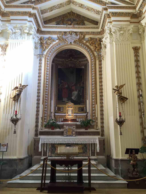 Kerk Meer van Bolsena