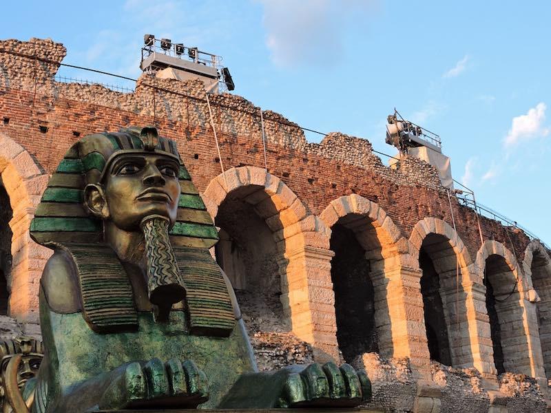 eerste keer italie - arena verona