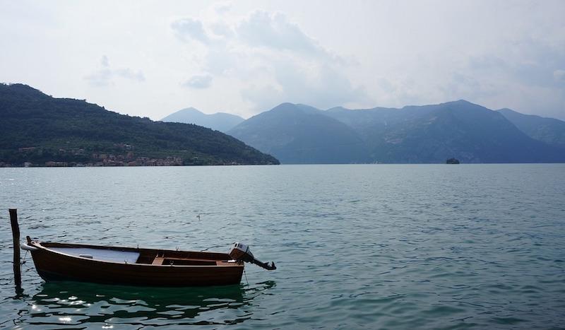 eerste keer italie - iseo meer