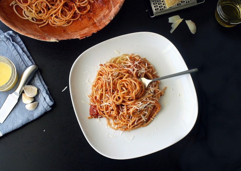 eerste keer italie - italiaans eten