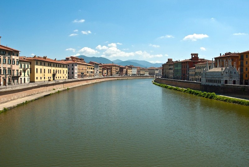 Pisa: relaxte mensen, vriendelijke sfeer