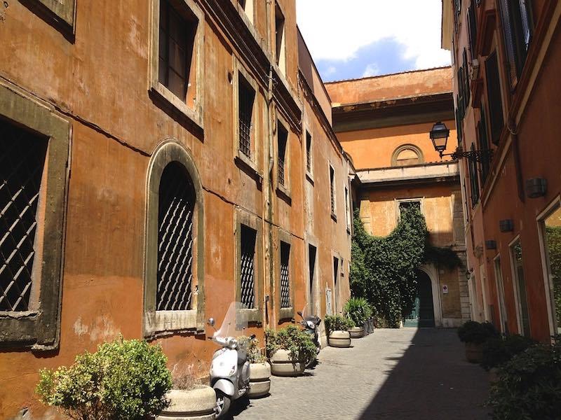 eerste keer italie - zijstraatje
